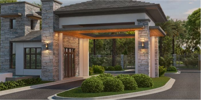 Gated Community Intelligent Guarding Solution